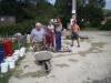 2. brigáda na kostel - zdění 8.8.2009