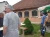 Kostel natírání palubek 19.5.2011