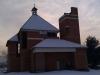 Kostel se střechou - únor 2012