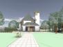 Kostel v Dolní Lhotě - možná úprava okolí