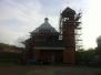 Pokračování stavby kostela - 7. - 8. 5. 2013
