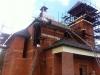 Pokračování stavby kostela - 8.5.2013