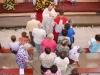 Slavnostní mše svatá v rozestavěném kostele v Dolní Lhotě 17.7.2011
