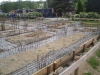 Zalévání armatury betonem zároveň zemi - 5.5.2009